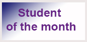student-of the month