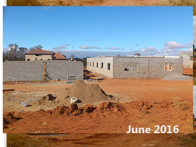 building progress, school site 6-10