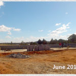 building progress, school site 6-2