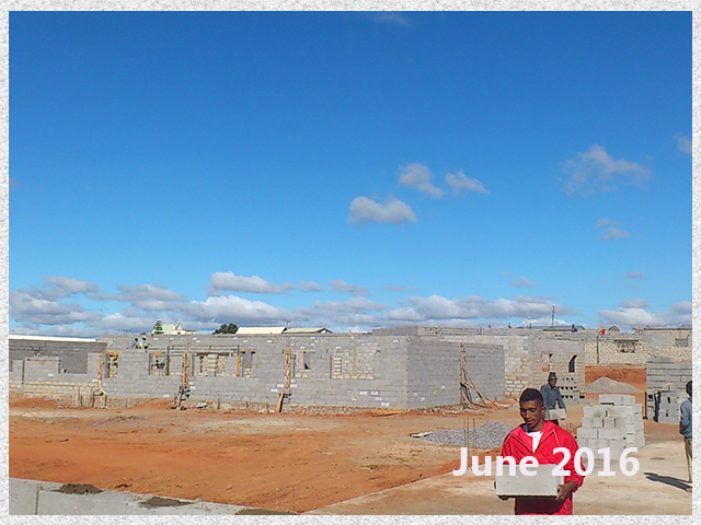 building progress, school site 6-5