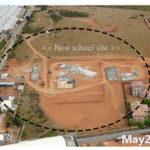 building progress, school site 3