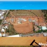 building progress, school site 4