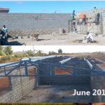 building progress, school site 6
