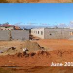 building progress, school site 6-10