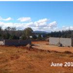 building progress, school site 6-11