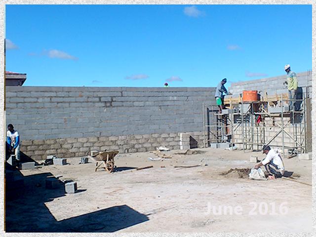 building progress, school site 6-3