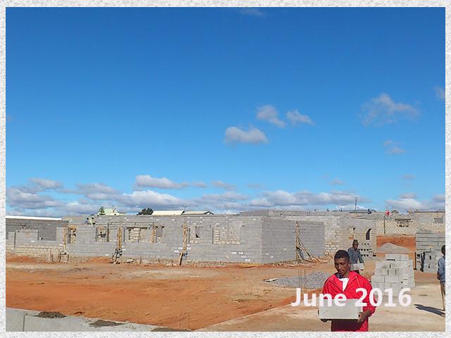 building progress, school site 6-5